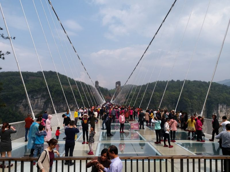張家界吊り橋